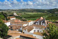 Old medieval town Obidos, Portugal Stock Images