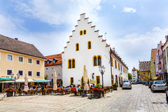 Old medieval town of Schongau royalty free stock photo