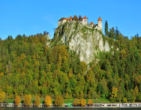 Old Medieval Town With Gornji Grad Castle In Bled Royalty Free Stock Images