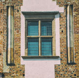 Old medieval window Royalty Free Stock Photos