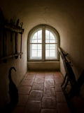 Old medieval Window Stock Image