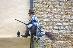 Old medieval witches and issues Royalty Free Stock Photography