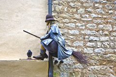 Old medieval witches and issues Stock Image