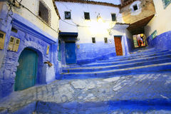Old Medina of Chefchaouen Stock Photography