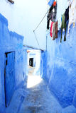 Old Medina of Chefchaouen Stock Image