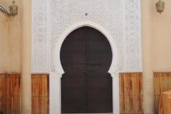 Old medina of oujda. Arabesque door, Old medina of oujda city in Morocco Stock Photos