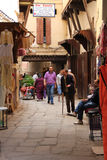 Old Medina quarter in Meknes, Morocco royalty free stock images