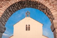 Old Mediterranean Church Stock Images