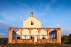 Old Mediterranean Church. Photo of a old Mediterranean Church Royalty Free Stock Photography