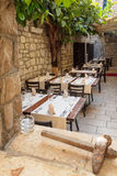 Old Mediterranean Restaurant Royalty Free Stock Photos