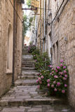 Old Mediterranean street Royalty Free Stock Photo