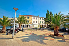Old mediterranean town of Novalja Stock Image