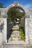 Old Mediterranean village Stock Images