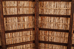 Old mediterranean wooden roof Stock Photos