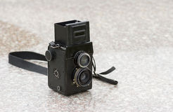 Old medium format photo camera Royalty Free Stock Photography
