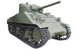 Old medium tank Stock Photo