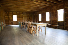 Old Meeting Hall in Texas Royalty Free Stock Images