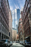 When old meets new in Boston, Massachusetts Stock Images