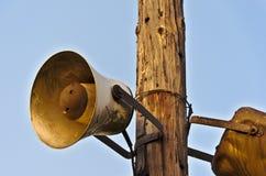 Old megaphone Stock Photo