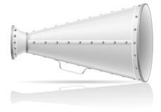 Old megaphone  illustration Royalty Free Stock Image