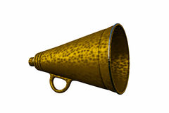 Old megaphone Royalty Free Stock Photo