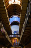 Old Melbourne Gaol interior on a perspective, Australia Stock Photography