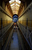 Old Melbourne Gaol interior on a perspective, Australia Royalty Free Stock Photography