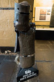 Old Melbourne Gaol - Ned Kelly armor Stock Photography