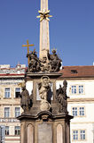 Old memorial in Prague Royalty Free Stock Image