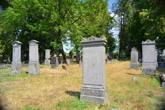 Old Menonite cementery Royalty Free Stock Image