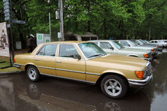 Old Mercedes-Benz cars at Retro Fest in Moscow Stock Photography