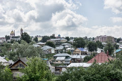 Old merchant town Birsk. Royalty Free Stock Photography
