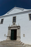 The old mercy church in Faro, Algarve, Portugal. Stock Photo