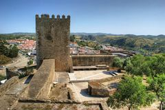 Old Mertola castle in Alentejo Royalty Free Stock Photo