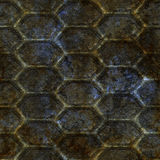 Old mesh panel Royalty Free Stock Photography