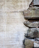 Old messy concrete wall texutre Royalty Free Stock Photography