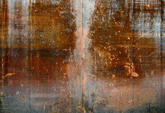 Old metal. Texture of metal. ( old background Stock Photography