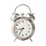 Old metal alarm clock Stock Image