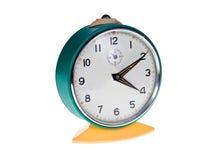 Old metal alarm clock Stock Photo