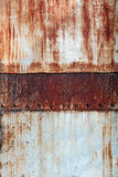 Old metal background Stock Photography