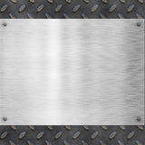 Old metal background texture Royalty Free Stock Images