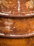 Old metal barrel background 625 Stock Photography