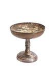 Old metal bowl Stock Photo