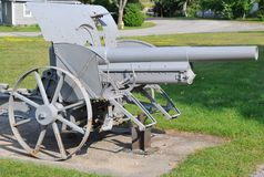 Old metal cannon Stock Photo