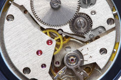 Old metal clockwork Royalty Free Stock Photos