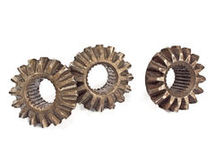 Old metal cogs Stock Photography
