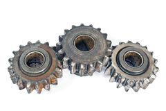 Old metal cogs Royalty Free Stock Image