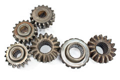Old metal cogs Stock Images