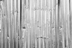 Old metal corrugated Royalty Free Stock Image