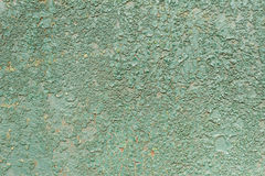 Old metal crackled panel Royalty Free Stock Photos